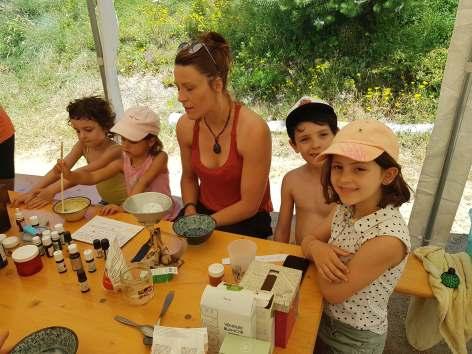 Créativa avec les enfants